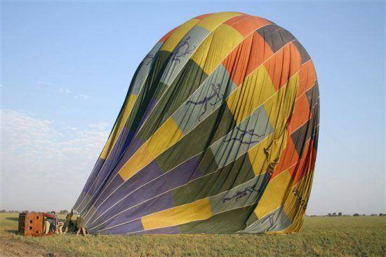 Los espacios abiertos en Kafue son perfectos para safaris en globo aerostático