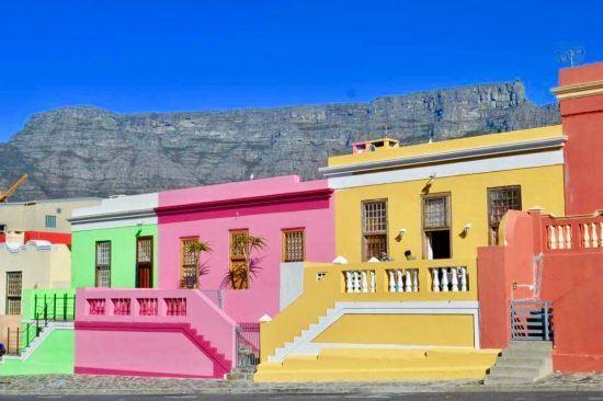 Foto von Jan: Die bunten Häuser in Kapstadts Bo-Kaap