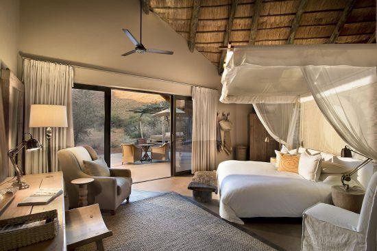 Luxury room at Tswalu Tarkuni Lodge