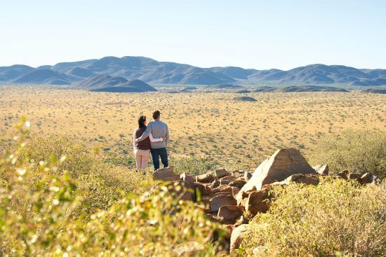Stunning destination and product: The wilderness around Tswalu Motse Lodge