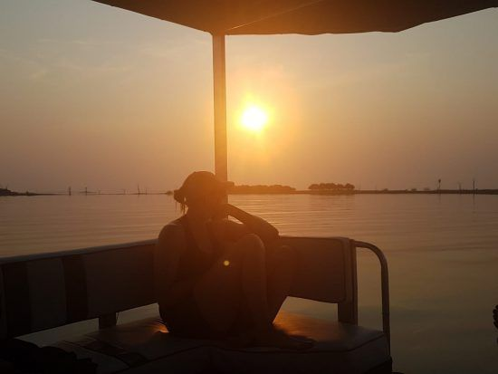 Croisière au coucher de soleil au lac Kariba