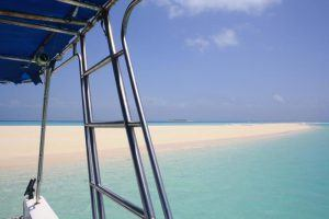 Mozambique white sandy beaches
