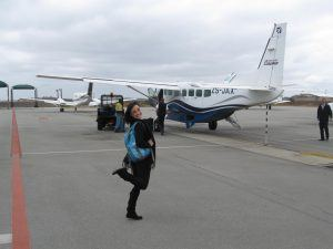Small plane flight to Mozambique