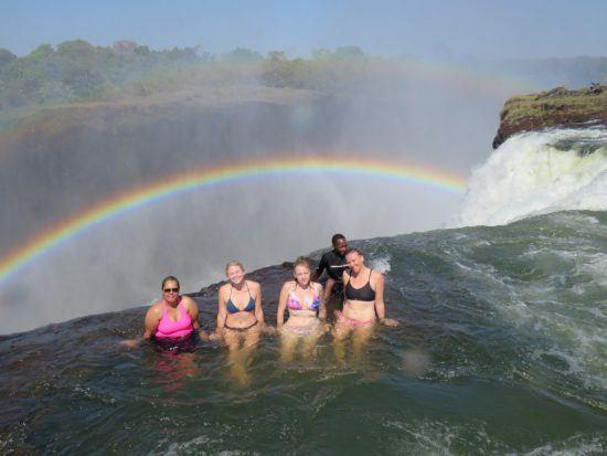 Devil's Pool en Zambie