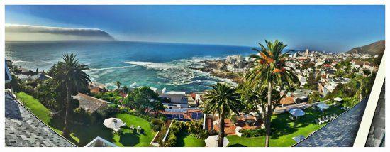 Breathtaking views from Ellerman House