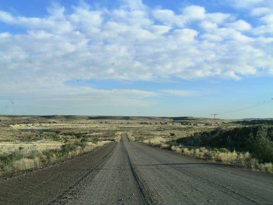 En voiture à travers la Namibie