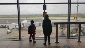 Kids travelling from Cape Town to Johannesburg