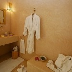 Dressing and relaxation room in hammam, Riad Ariha, Marrakech