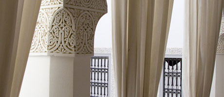 loggia first floor riad ariha marrakech