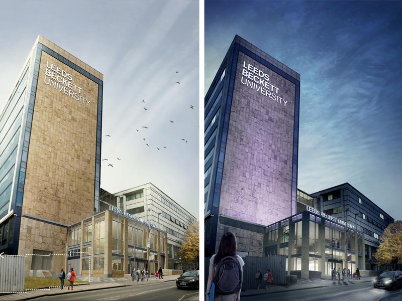 Leeds Beckett University Framework By Race Cottam Associates Ltd