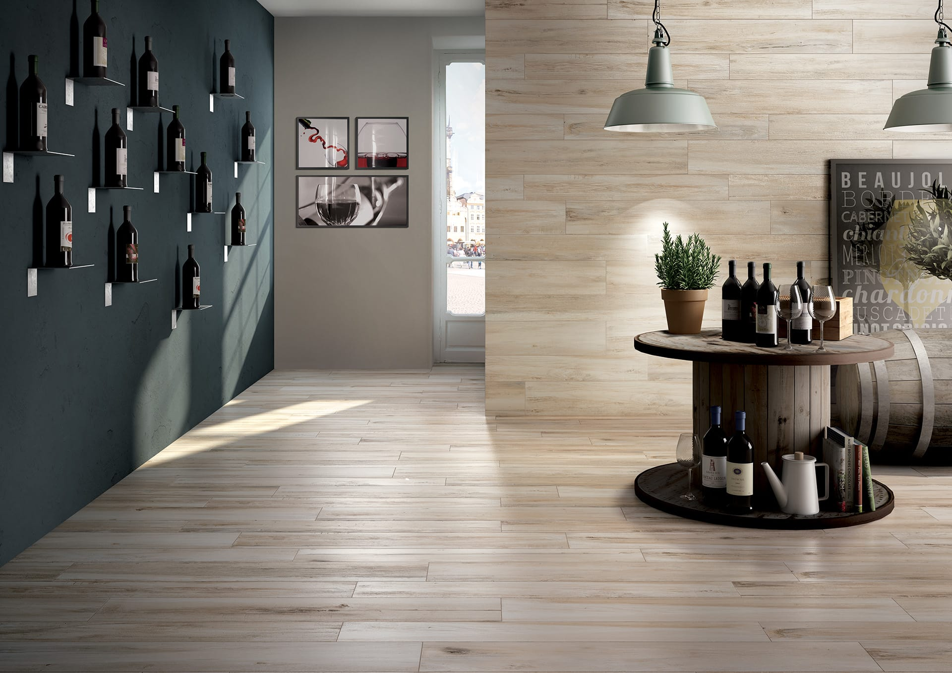 Gres Porcellanato Color Miele.Wooden Floor Tiles And Wood Effect Porcelain Tiles