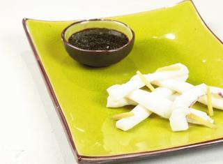 Calamaro in salsa all'aceto