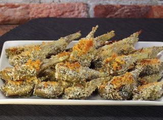 Ricetta: carciofi croccanti al forno