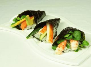 Sushi a cono