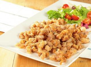 Calamaretti spillo fritti