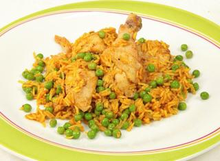 Come preparare l'arroz di pollo