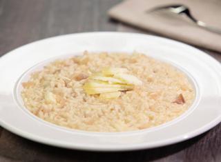 Ricetta: il risotto al Castelmagno