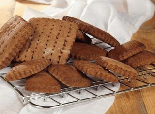 Biscotti al cacao per gelato