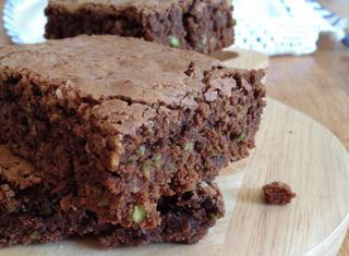 Brownies al pistacchio