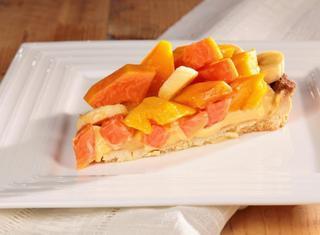 Ricetta: crostata ai frutti tropicali