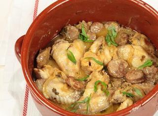 Ali di pollo al basilico
