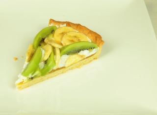 Ricetta: crostata kiwi e banane