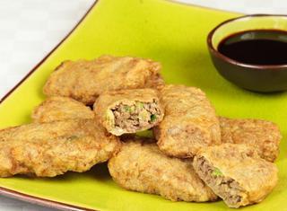 Crocchette di manzo fritte