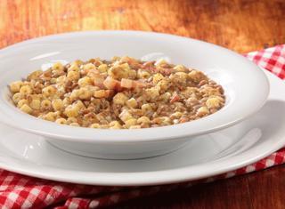 Come preparare pasta e lenticchie