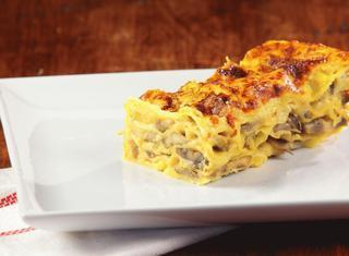 Ricetta: lasagne ai funghi