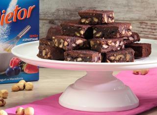 Brownies cioccolato e nocciole con MyDietor