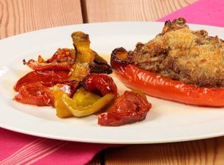 Ricetta: Peperoni ripieni con carne