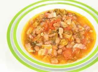 Zuppetta scarola e fagioli