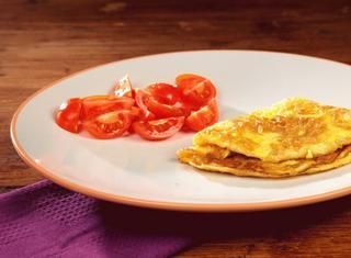 Omelette al tartufo