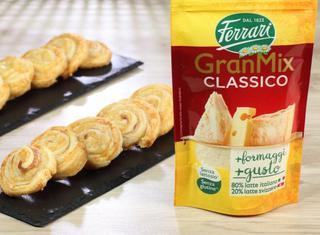 Girelle con prosciutto cotto e formaggio