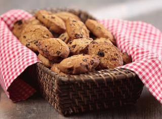 Biscotti speziati con l'uvetta