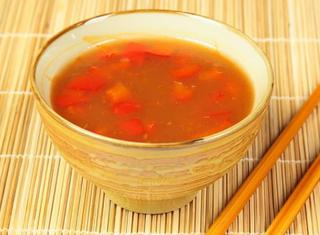 Salsa agrodolce cinese rapida