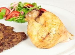 Pollo arrosto all'ucraina