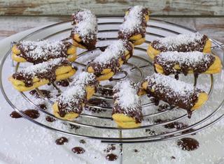 Biscottini al cioccolato e cocco