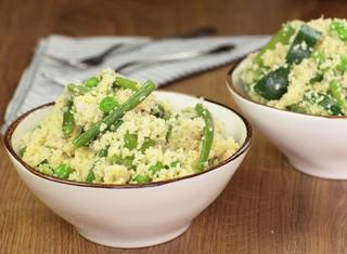 Cous cous con verdure primaverili