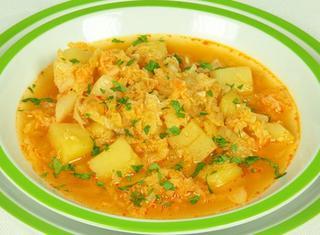 Zuppa di cavolo Krcìg