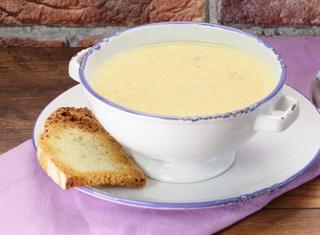 Crema di patate e speck