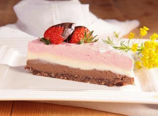 Cheesecake tre gusti