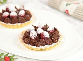Tartellette alla crema al cioccolato
