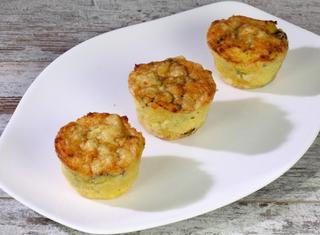 Sformatini di zucchine e patate