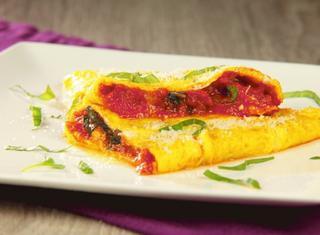 Omelette  al pomodoro