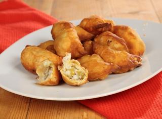 Empanadas de vigilia calzoncini argentini per la vigilia