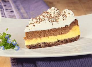 Cheesecake al cioccolato al latte