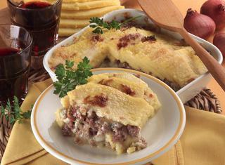 Ricetta: polenta con gorgonzola