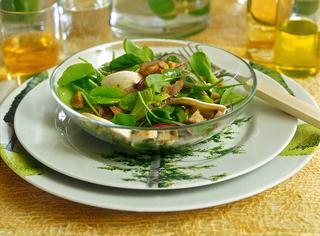 Come preparare l'insalata di castagne