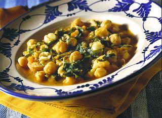 Come preparare la zuppa di erbette ai ceci